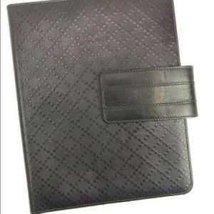 Gucci  Leather iPad 2 Case in Brown